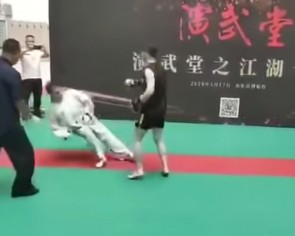 Tai chi master knocked out in 30 seconds by amateur martial arts fighter