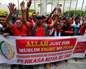 Inter-faith relations face threat over 'Allah' issue