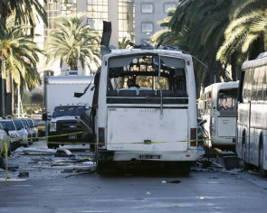 Tunisia under state of emergency after bus bombing