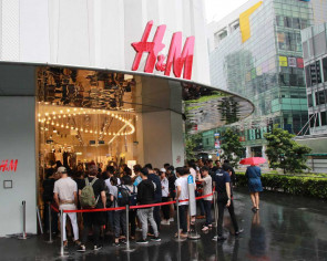 H&M's collaboration with Kenzo draws long queues at Orchard Building and Ion Orchard