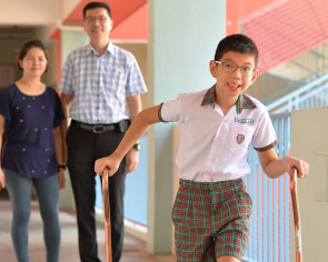PSLE: Parents rather son be independent than score good grades