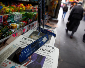 US newspapers react to Trump's unexpected win