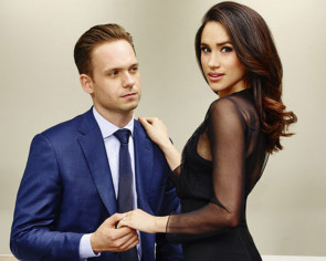 Meghan Markle's 'Suits' co-star has the best engagement message