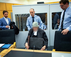 Wheelchair-bound 94-year-old German on trial for Nazi crimes