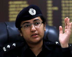 Pakistani woman police commander led defense of Chinese mission