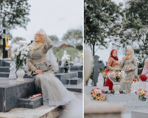 Malaysian models flamed for posing on graves in Christian cemetery for bridal photoshoot