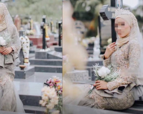 Plans to improve security at graveyard after Muslim bridal photoshoot at Christian cemetery stirs controversy
