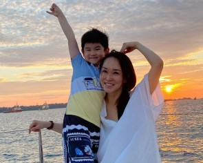 Fann Wong's heartfelt message to her son will give you the warm fuzzies
