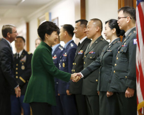 S Korean president visits Pentagon, hails alliance with US