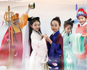 Tiny performers in 'Lady White Snake' adaptation steal audiences' hearts