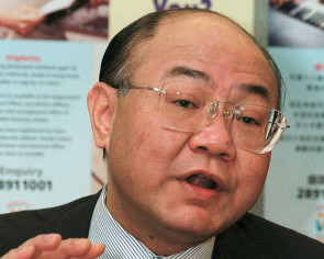 Ex-judge first to announce bid to be HK's chief exec