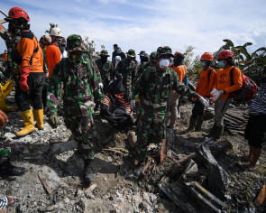 Search called off in Sulawesi for victims of Indonesian quake and tsunami