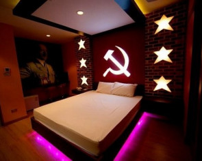 Furore over Nazi-themed hotel room in Thailand, complete with Adolf Hitler mural