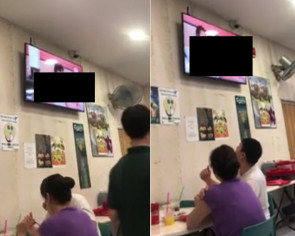 Cheeky diner hijacks smart TV at Singapore eatery, plays gay porn clip