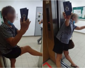 Woman in Balestier condo traps delivery man in lift