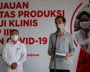 Indonesian President Joko warns against rushing for coronavirus vaccines amid halal concerns