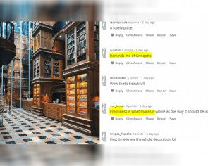 Tourist raves about 'Harry Potter bank' in Taiwanese city