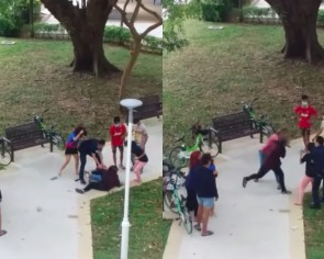 3 arrested after 'royal rumble' at Marine Terrace, 2 other teen girls under investigation