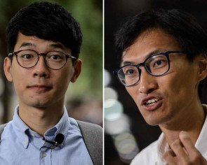 Young Hong Kong lawmakers all fired up