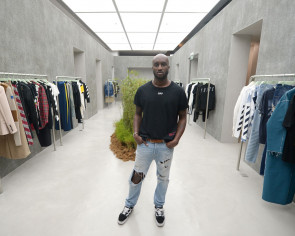 Off-White founder gets inspiration from the streets