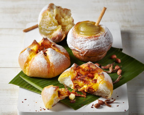 Get a taste of nasi lemak in a bun