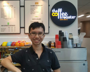 This NUS undergrad runs his own cafe on campus - and doesn't miss any classes while at it