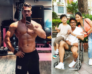 Taiwanese fitness guru Muscle Daddy suffers stroke at 37