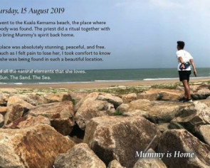 'Mummy is home': Dead Singaporean kayaker's son pays touching tribute to mother