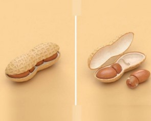 Design lovers delighted by Japanese company 'peanut-pods'