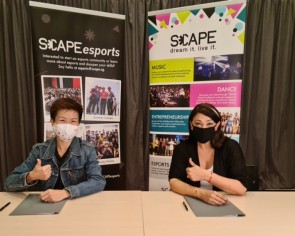 *Scape and Twitch's new initiative will support over 300 youth content creators