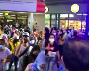 Where's social distancing? Netizens ask after crowd spotted at Paya Lebar Square