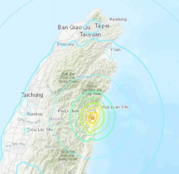 2 quakes rattle Taiwan, no reports of damage