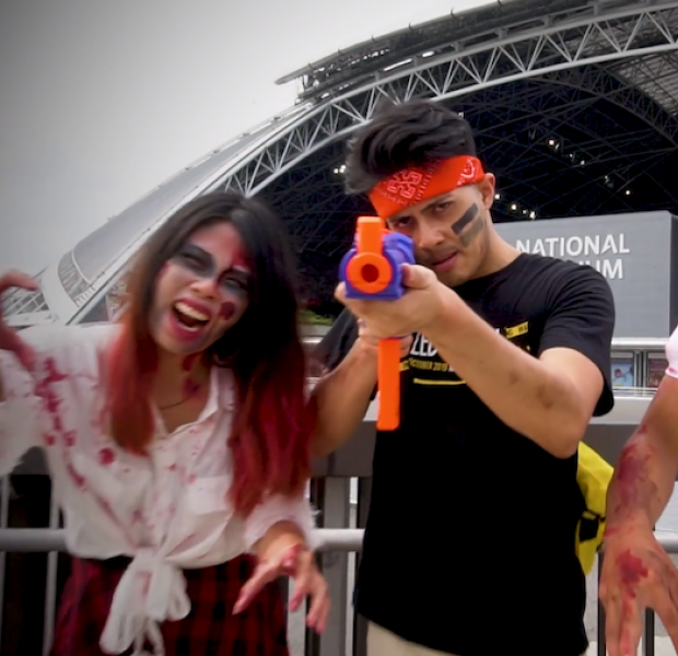 National Stadium will turn into a zombie-infested battlefield come Oct