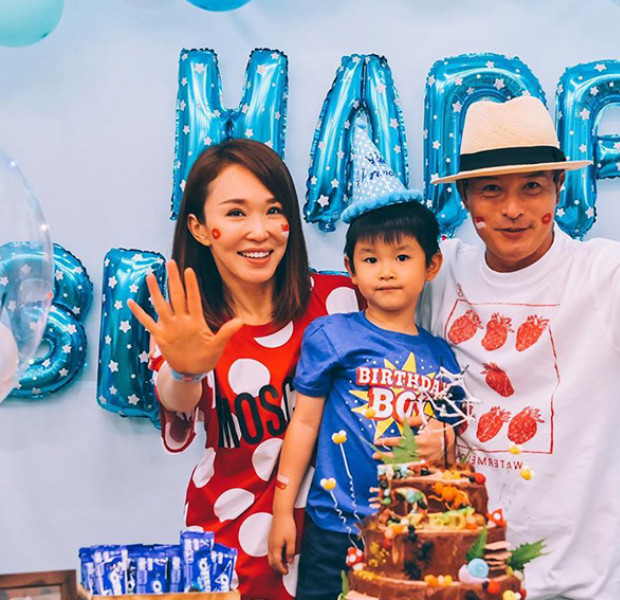 Fann Wong says no to second child with hubby Christopher Lee