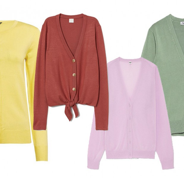 These lightweight cardigans are made for our unpredictable weather