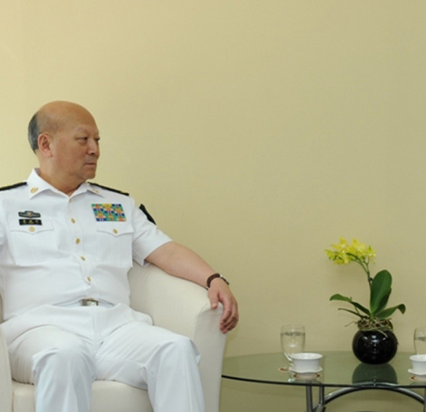 Chinese admiral opposes 'unsafe' actions in South China Sea