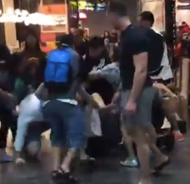Fight breaks out at Jewel Changi Airport; 2 men arrested