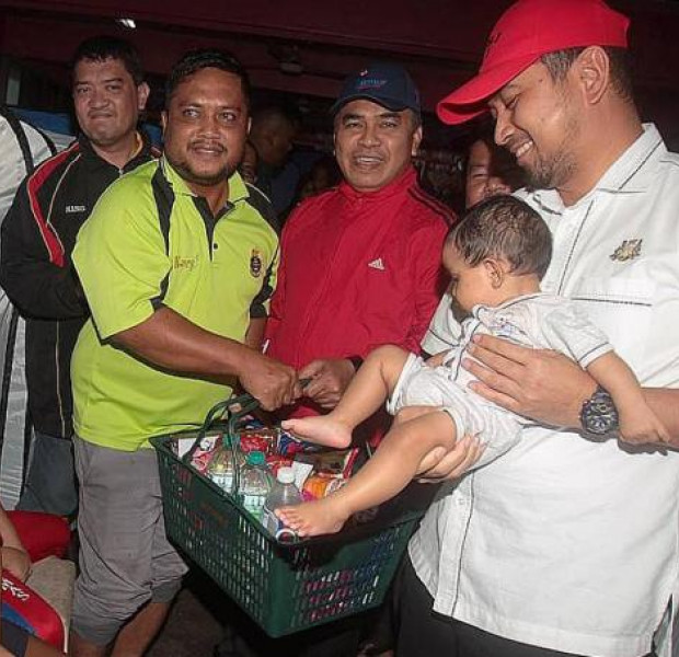 Nearly 4,000 Johor flood victims displaced