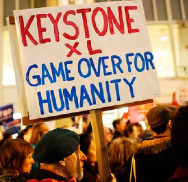 Critics of Keystone oil pipeline warn it will 'profit China'