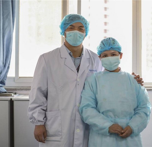 Saving lives with love: A look at front line medical couples in China