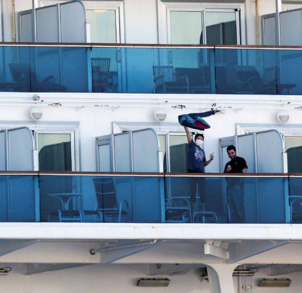 Passengers talk about life aboard stricken cruise ship