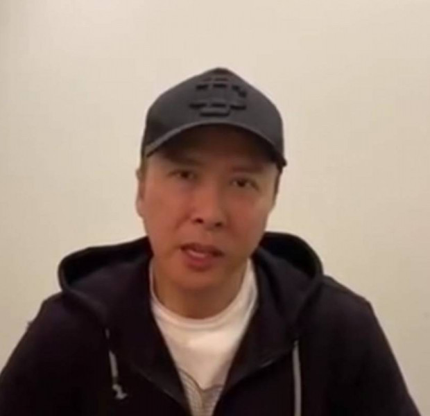 'China will win the coronavirus battle': Ip Man star Donnie Yen donates $180,000 to frontline medical workers in Wuhan
