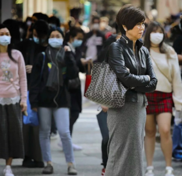 The Hongkongers refusing to wear a mask for the coronavirus outbreak