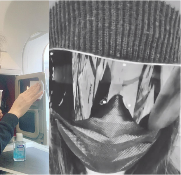 No joke: Cecilia Cheung's coronavirus get-up can't compare to what Selena Lee saw on a flight
