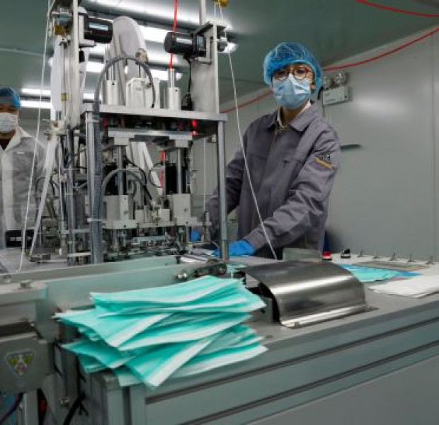 Coronavirus: Hong Kongers set up face mask factory amid panic buying