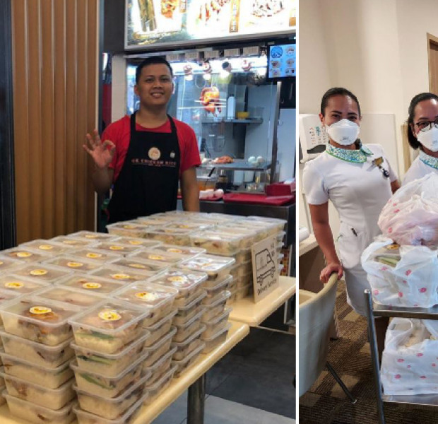 This made my day: Chicken rice shop offers free meals to hospital staff despite suffering losses