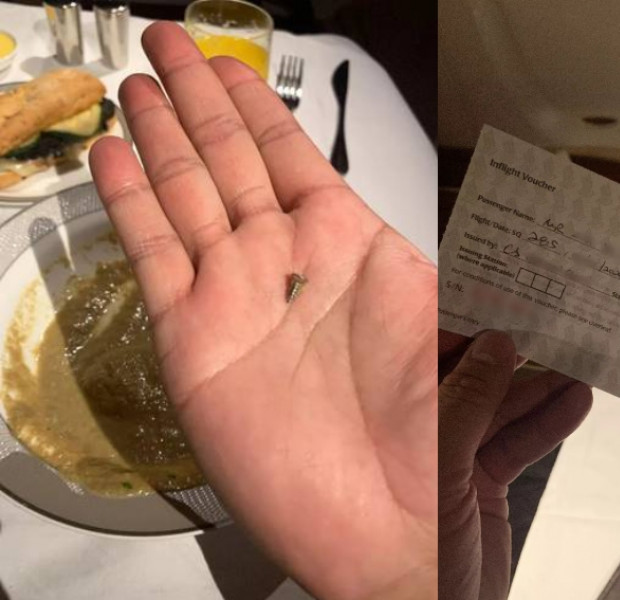 SIA apologises to Suites passenger who found screw in soup