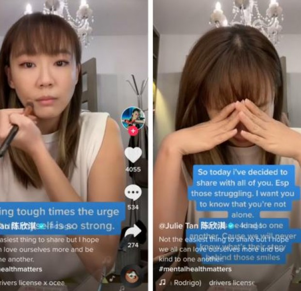 Actress Julie Tan opens up on mental health struggles, self-harming on TikTok