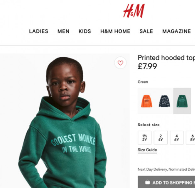 H&M removes black boy in 'monkey' ad tagged as racist