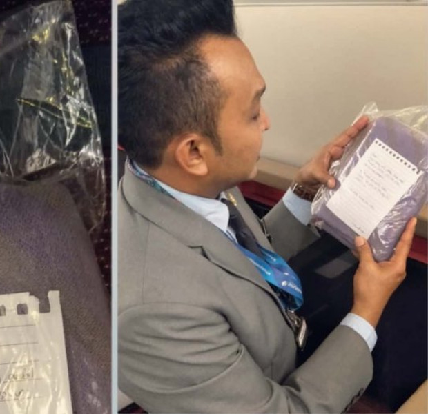 Netizens laud passenger who returned a stolen blanket to Malaysia Airlines after 9 years